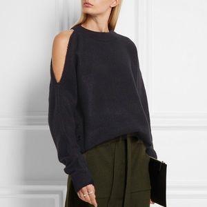 Tibi Sweaters - TIBI cold shoulder sweater